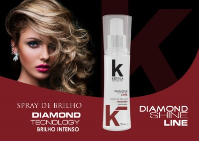 Spray de Brilho Diamond Line
